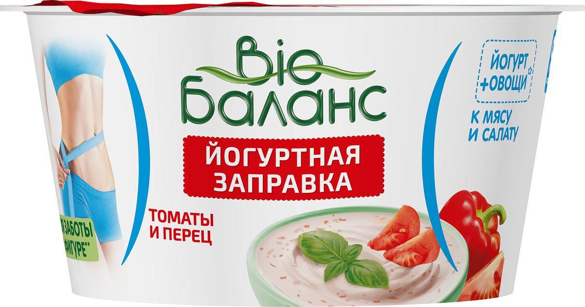 Йогурт для заправки Био-Баланс Томаты и перец, 6%, 140 г