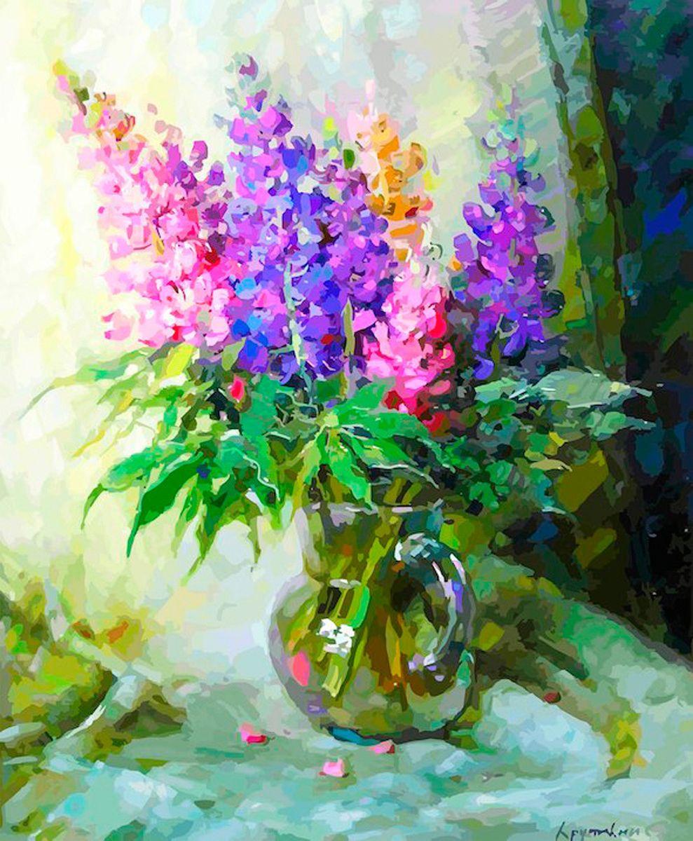 Картина по номерам Хобрук Сирень, HS0211, 40 х 50 см сирень картина верность 60 40 см