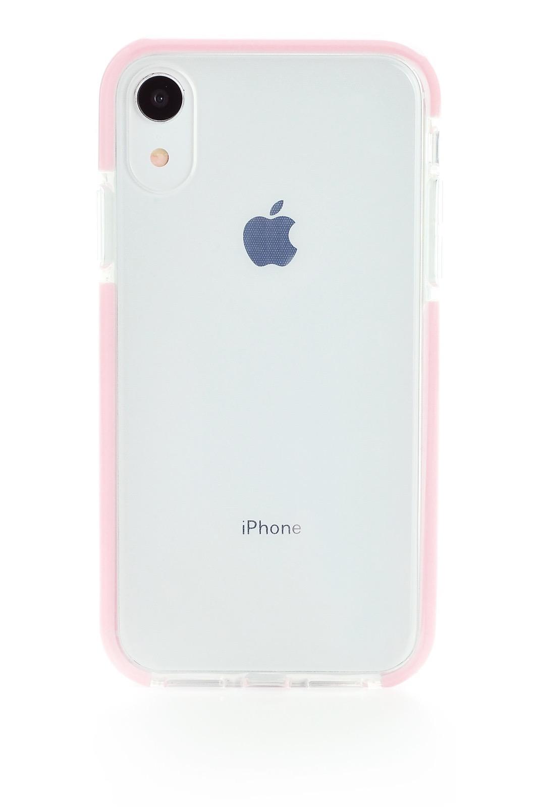 """Чехол для сотового телефона Gurdini Crystal Ice 906709 силикон противоударный для Apple iPhone XR 6.1"""", розовый"""