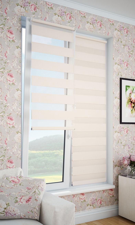 Фото - Рулонные шторы DDA 66794, бежевый рулонные шторы dda прованс принт 48x170 см