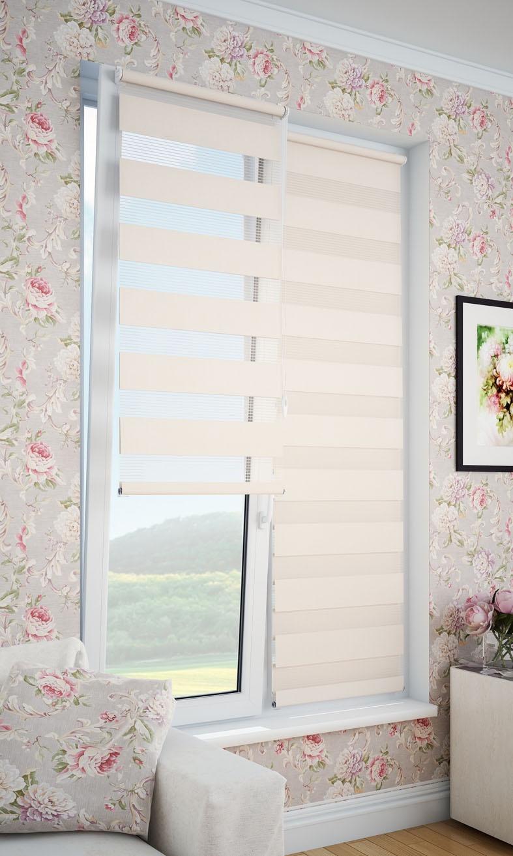 Фото - Рулонные шторы DDA 66796, бежевый рулонные шторы dda прованс принт 48x170 см