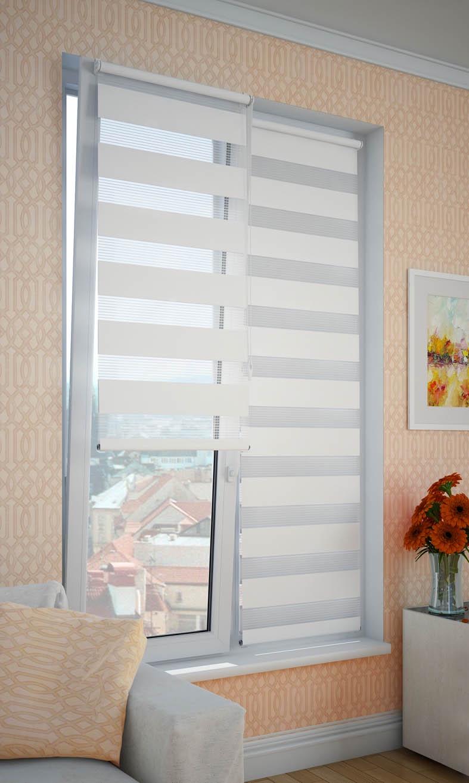 Фото - Рулонные шторы DDA 66773, белый рулонные шторы dda прованс принт 48x170 см