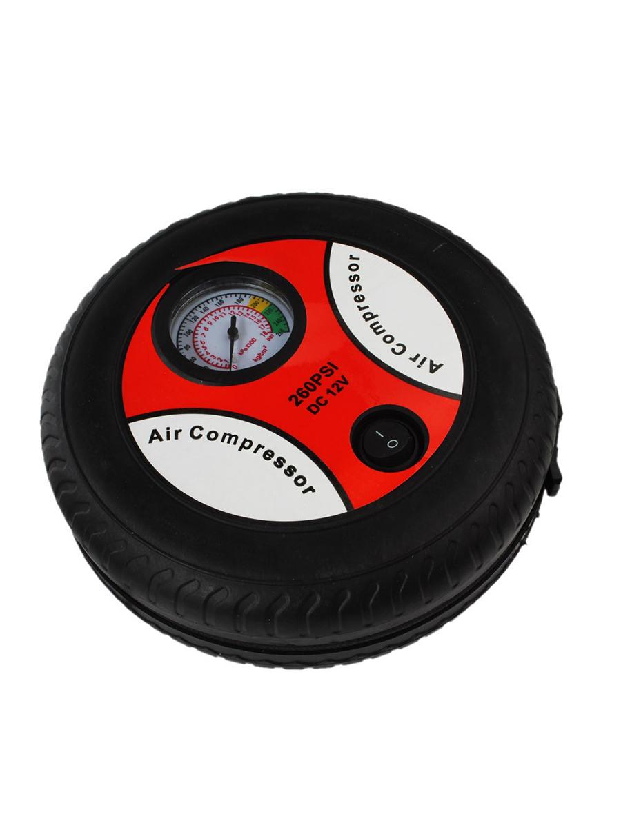 Автомобильный компрессор Tip-Top 4605170010956, черный, красный