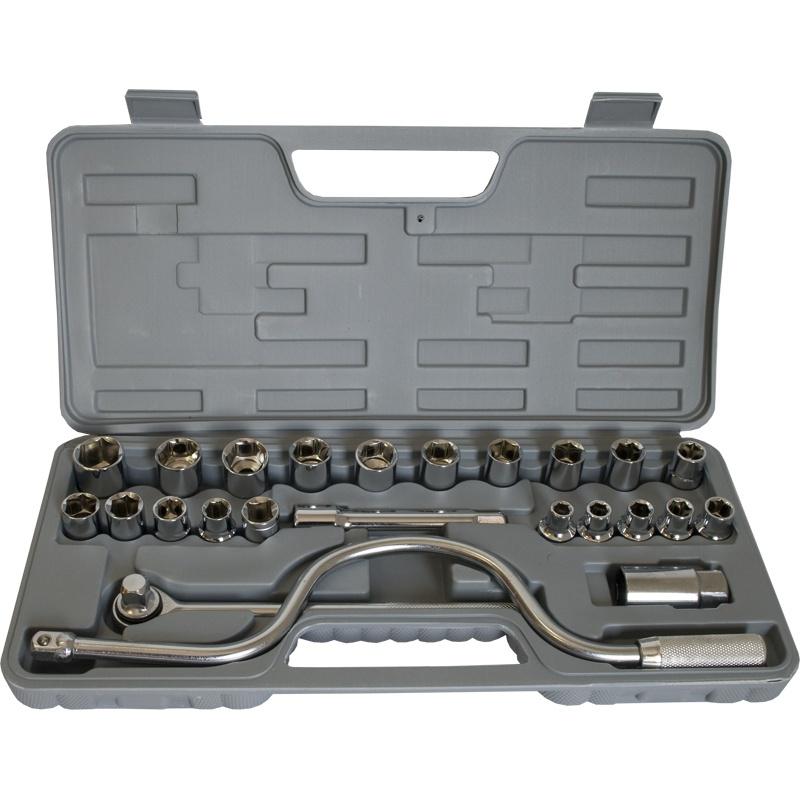 Набор инструментов Калибр АН-24, серый набор инструментов калибр ан 52 серый