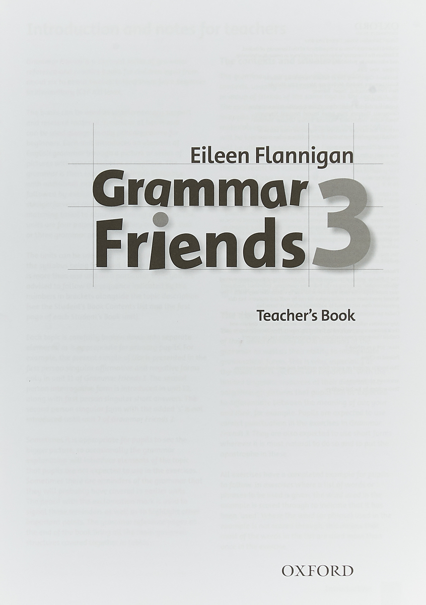 Grammar Friends 3. Teacher's Book