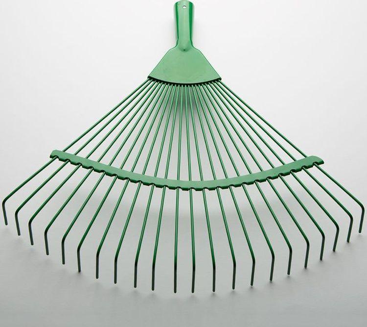 цена на Грабли веерные, зеленый, ТД61-0004