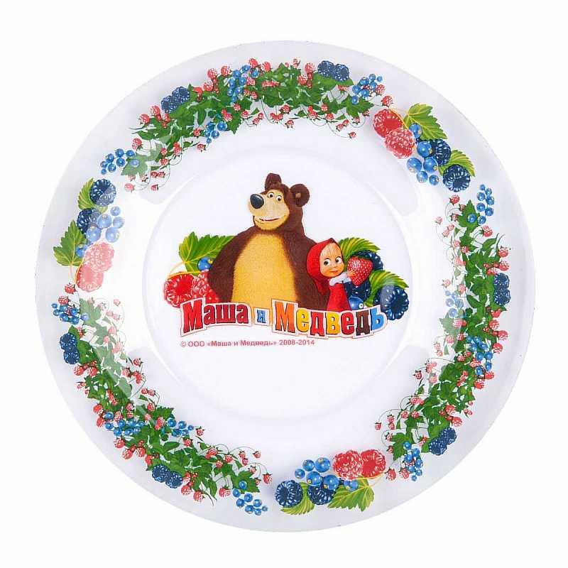 Тарелка Маша и Медведь 1032707