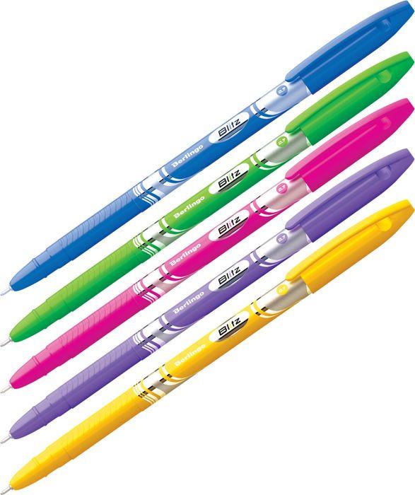 Набор шариковых ручек Berlingo Blitz, 223694, цвет чернил синий, 50 шт канцелярия berlingo набор автоматических шариковых ручек f 10 цвет синий 4 шт