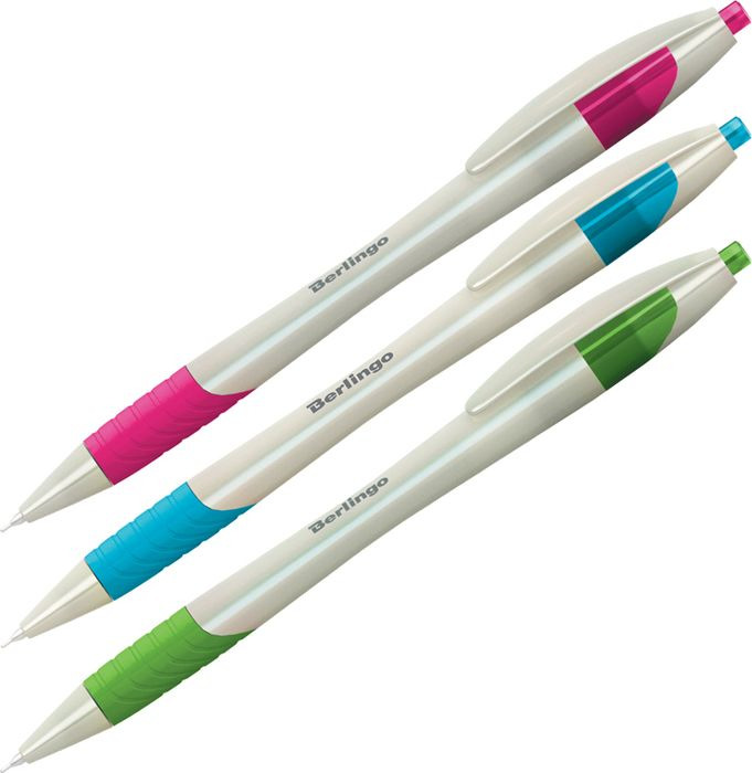 Набор шариковых ручек Berlingo Perlamutik XL, 206165, цвет чернил синий, 12 шт набор ручек berlingo f 10 автоматических шариковых 4шт синие 0 7мм