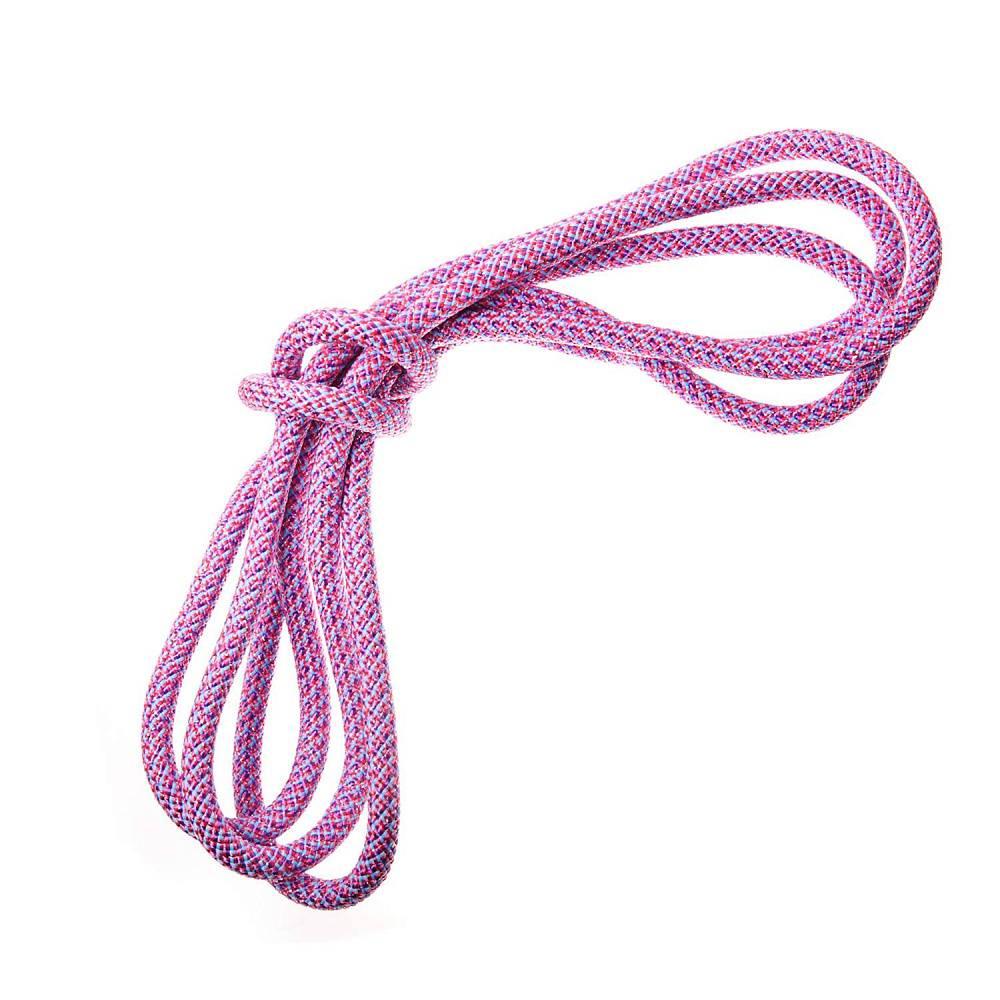 Скакалка BodyForm BF-SK10-02, розовыйBF-SK10-02Скакалка для художественной гимнастики - один из предметов для занятий и выступлений в художественной гимнастике. Их используют гимнастки разных возрастов и категорий. Упражнения с гимнастической скакалкой отличаются своей оригинальностью и многообразностью. Они сочетают в себе махи, броски, переводы, круги скакалкой и прыжки через нее. Обрезать скакалку под рост гимнастки в домашних условиях лучше острым ножом. После, концы скакалки необходимо обжечь, и завязать узлы на концах – это значительно увеличивает срок службы. Кроме художественной гимнастики веревочные скакалки используют для групповых занятий фитнесом, в спортивных состязаниях, активном отдыхе . Хранить скакалку для художественной гимнастики предпочтительнее в специальном чехле. Длина скакалки: 3м Диаметр скакалки: 10 мм. Материал: полиамид Вес : 180 гр Упаковка: пакет с европодвесом. Страна изготовитель: Россия.