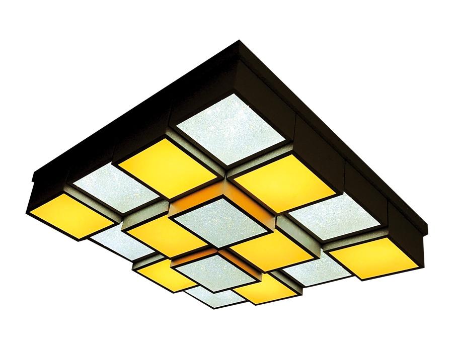 Фото - Управляемый потолочный светильник Ambrella FS1550 WH/SD 192W D715*715 192w