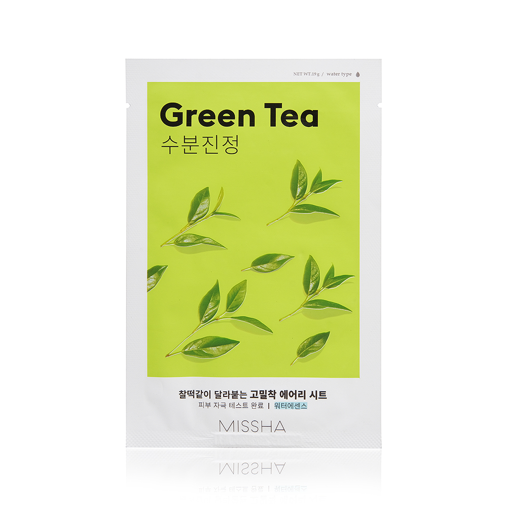 Маска косметическая Missha Airy Fit Sheet Mask Green Tea missha bb 50ml