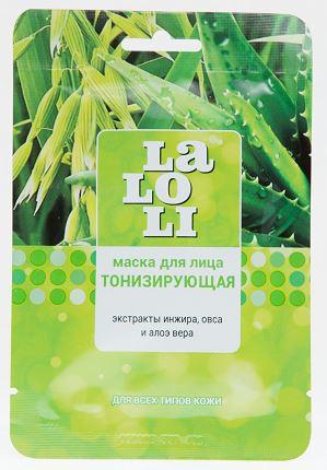 Маска косметическая Laloli для лица тонизирующая тканевая 1 шт frudia blueberry hydrating natural maintains moisture увлажняющая тканевая маска для лица с экстрактом черники 27 мл