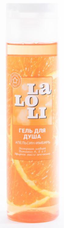 Гель для душа Laloli Нежное сияние 250 мл апельсин и имбирь гель для душа сияние солнца barnangen 400 мл