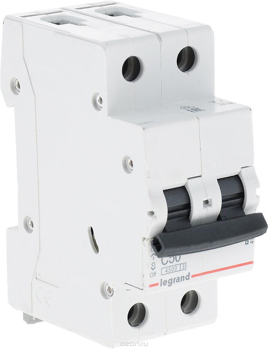 Автоматический выключатель Legrand 44343 автоматический выключатель tdm ва47 29 2р 40а 4 5ка d sq0206 0161