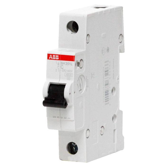 Автоматический выключатель ABB 10186 автомат abb sh201l c10