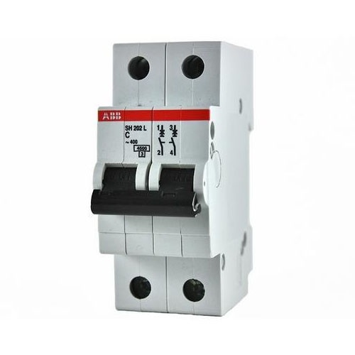Автоматический выключатель ABB 10190 автоматический модульный выключатель abb 2п c sh202l 4 5ка 16а 2cds242001r0164