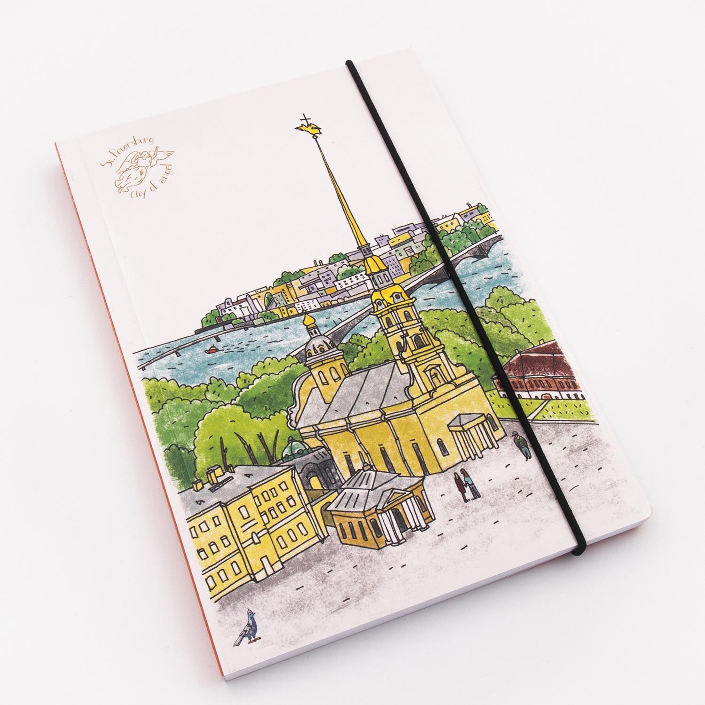 Блокнот С Минимакс Петропавловская крепость, 100-120 printio петропавловская крепость