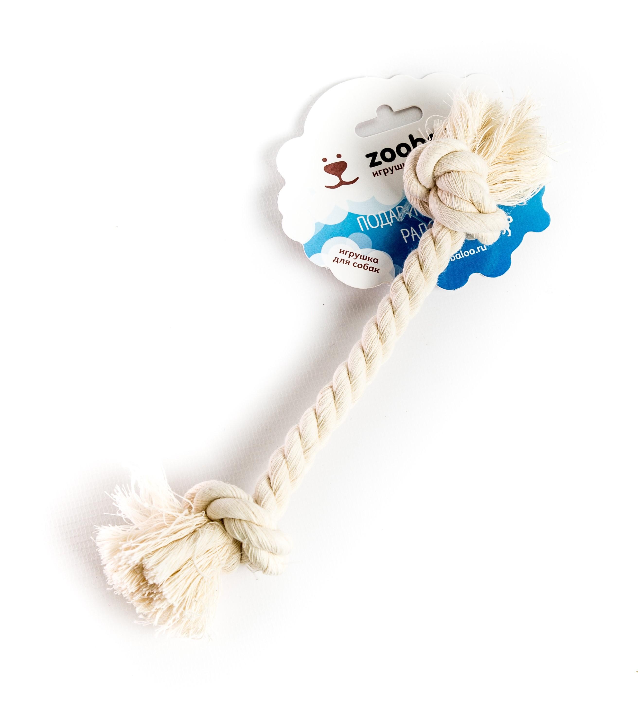 Игрушка для животных Zoobaloo 412412Какой бы ни была порода Вашей собаки – этот моно-аксессуар подойдёт и Вам, и вашему питомцу. Удобно хватать, жевать, грызть, таскать. Грейфер для малых собак из хлопковой веревки 21см. Мы учли, что игрушка должна подходить не только животному, но и хозяину: удобство хвата, размеры, материал. Канатик из хлопка с узелками на концах – вот и вся конструкция простого, но эффективного и, что важно, рабочего гаджета. Перекрученная хлопчатобумажная веревка крепка и несомненно привлечет внимание вашей собаки. 21 см. Традиционна, адаптирована для командных игр. Игрушка подходит и для щенков, а также небольших собак. Прочный и долговечный, абсолютно безопасный аксессуар. Все необходимое учтено!