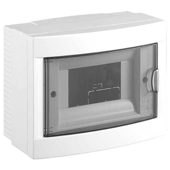 Распределительный щит VIKO на 6 автоматов навесной, белый карандаш чернографитный koh i noor toison d or 1970 h 1970 h