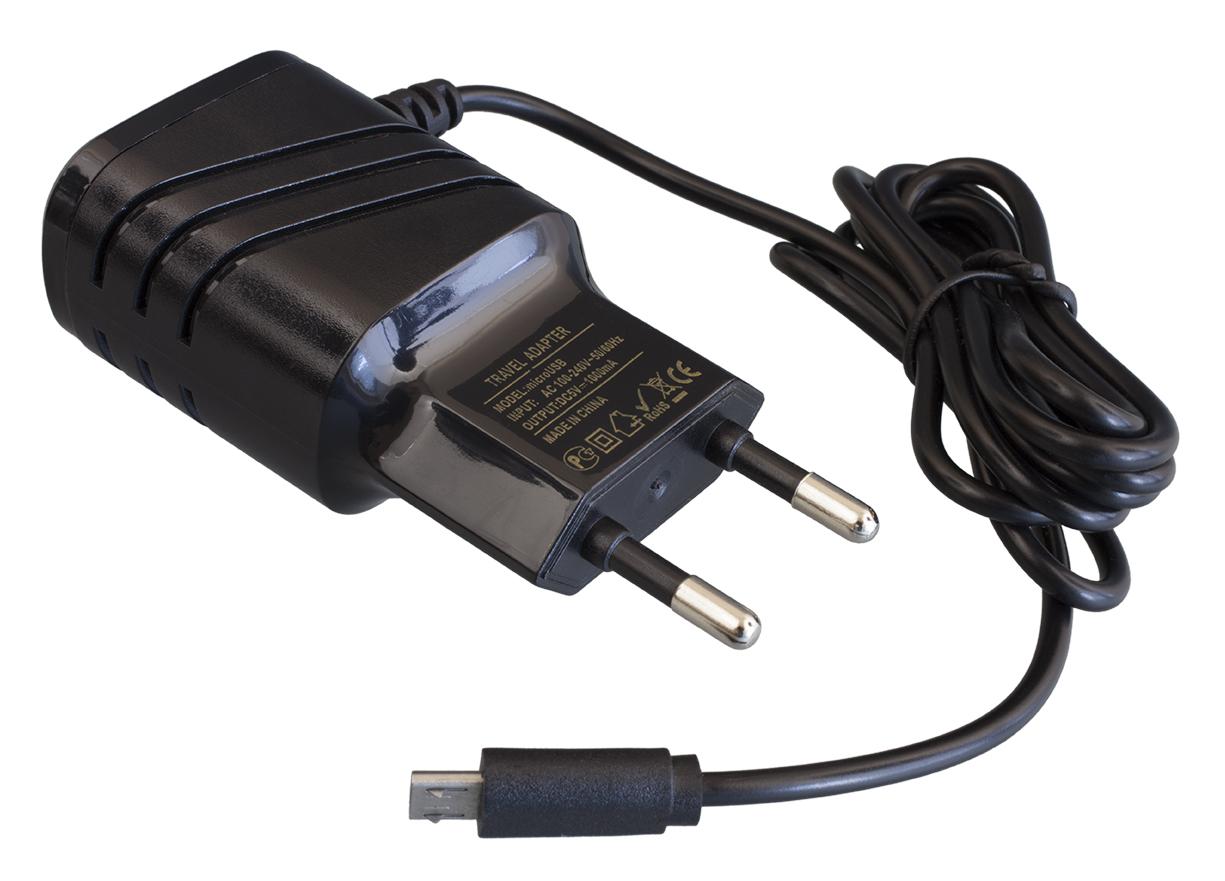 Зарядное устройство Navitoch microUSB 2A, черный кружка зарядное устройство с рисунком