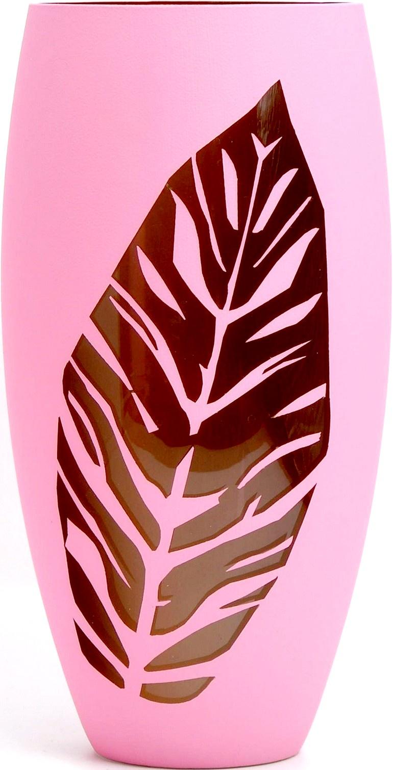 Ваза Яркий штрих sh115.2, розовый