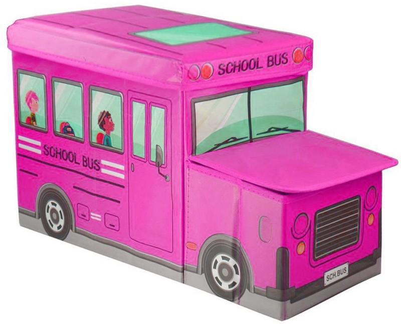Ящик для игрушек MARKETHOT Короб для хранения игрушек, розовый
