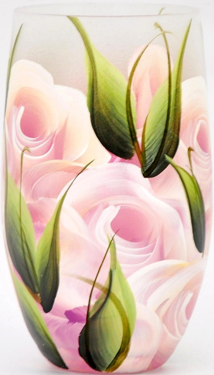 Ваза Яркий штрих 864.3, розовый