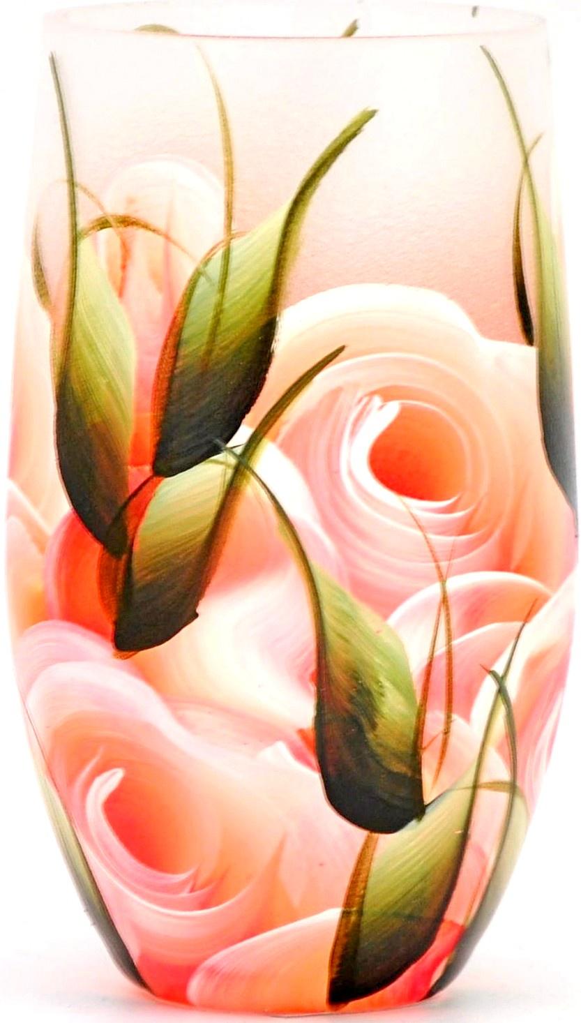 Ваза Яркий штрих 864.2, розовый