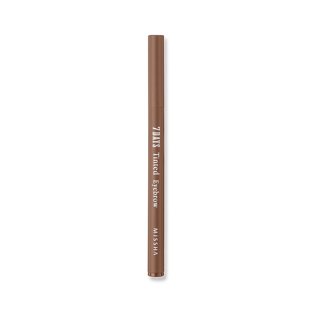 купить Гелевый тинт для бровей светло-коричневый Missha 7days Tinted Eyebrow, Light Brown, 0.8 г по цене 819 рублей