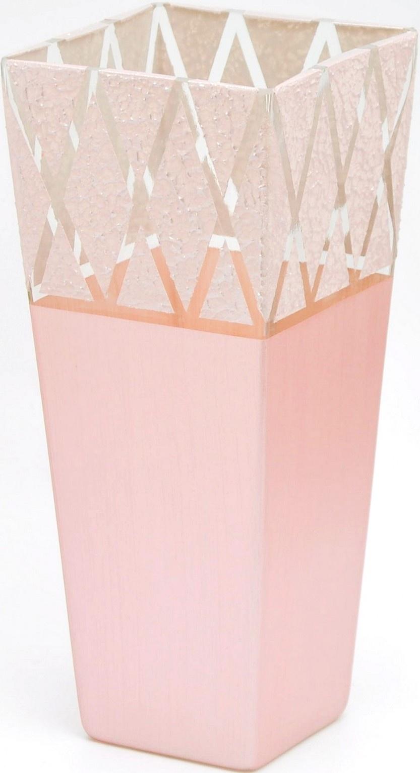 Ваза Яркий штрих sh167.2, розовый