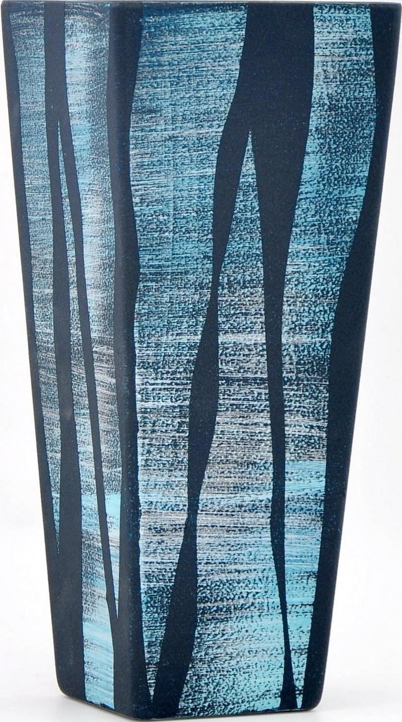 Ваза Яркий штрих sh103.7, темно-синий