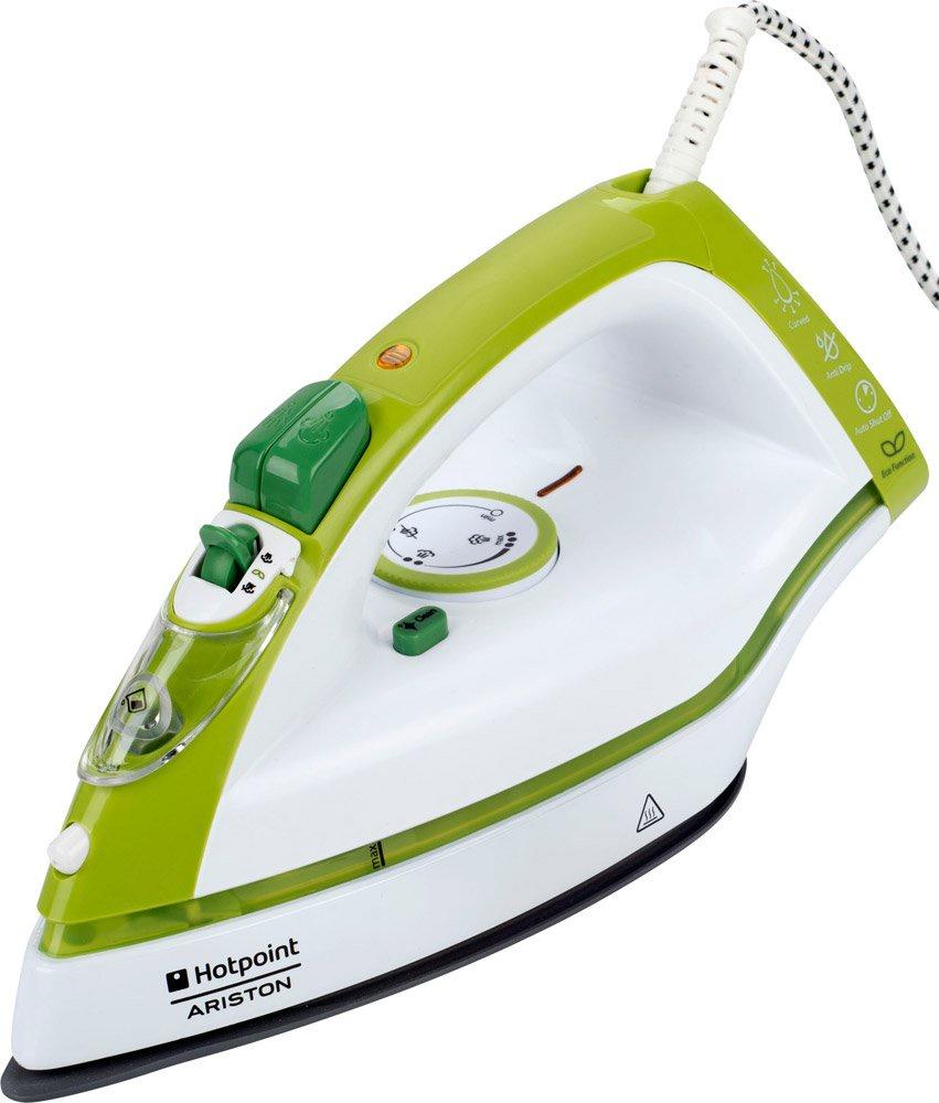 Утюг Hotpoint-Ariston SI C35 CKG, белый, зеленый
