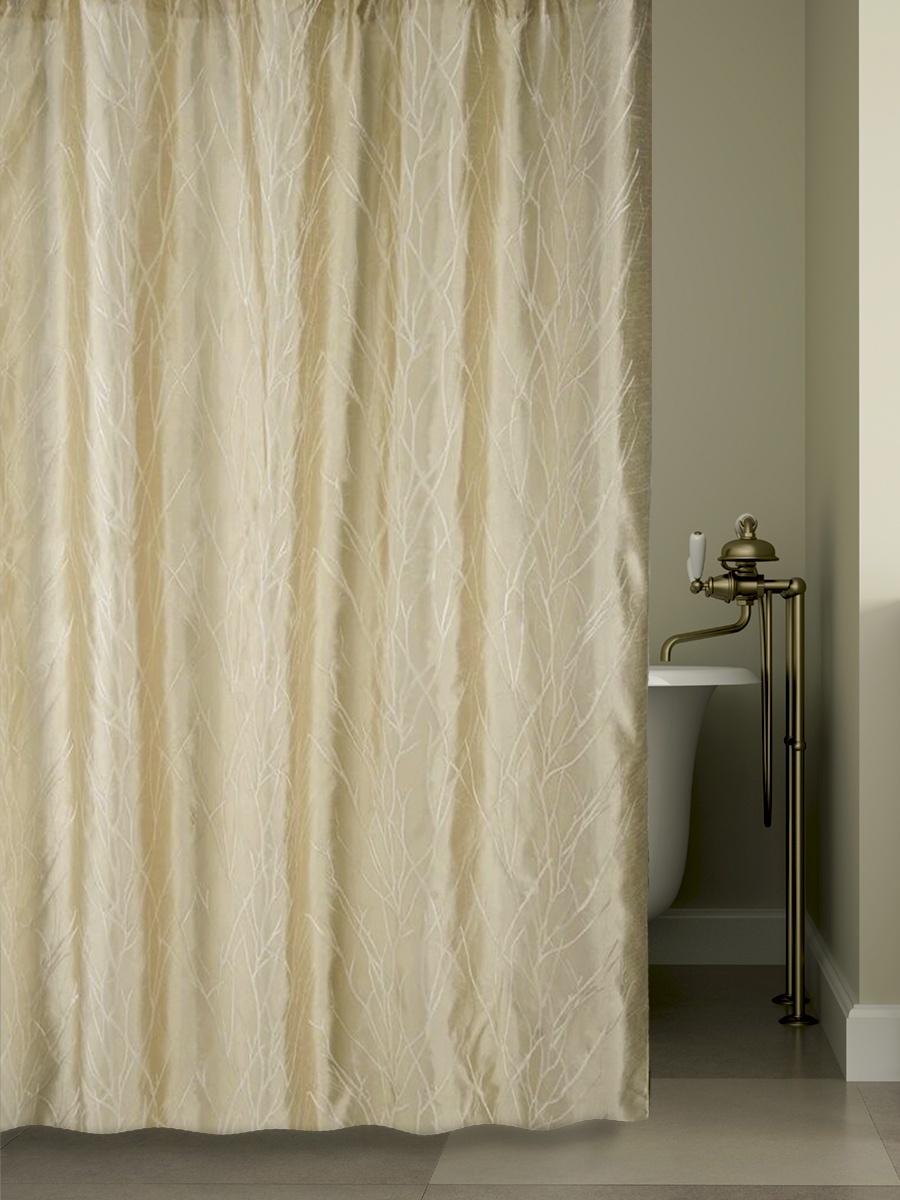 Штора для ванной BATH PLUS LC1402-2, бежевый цена
