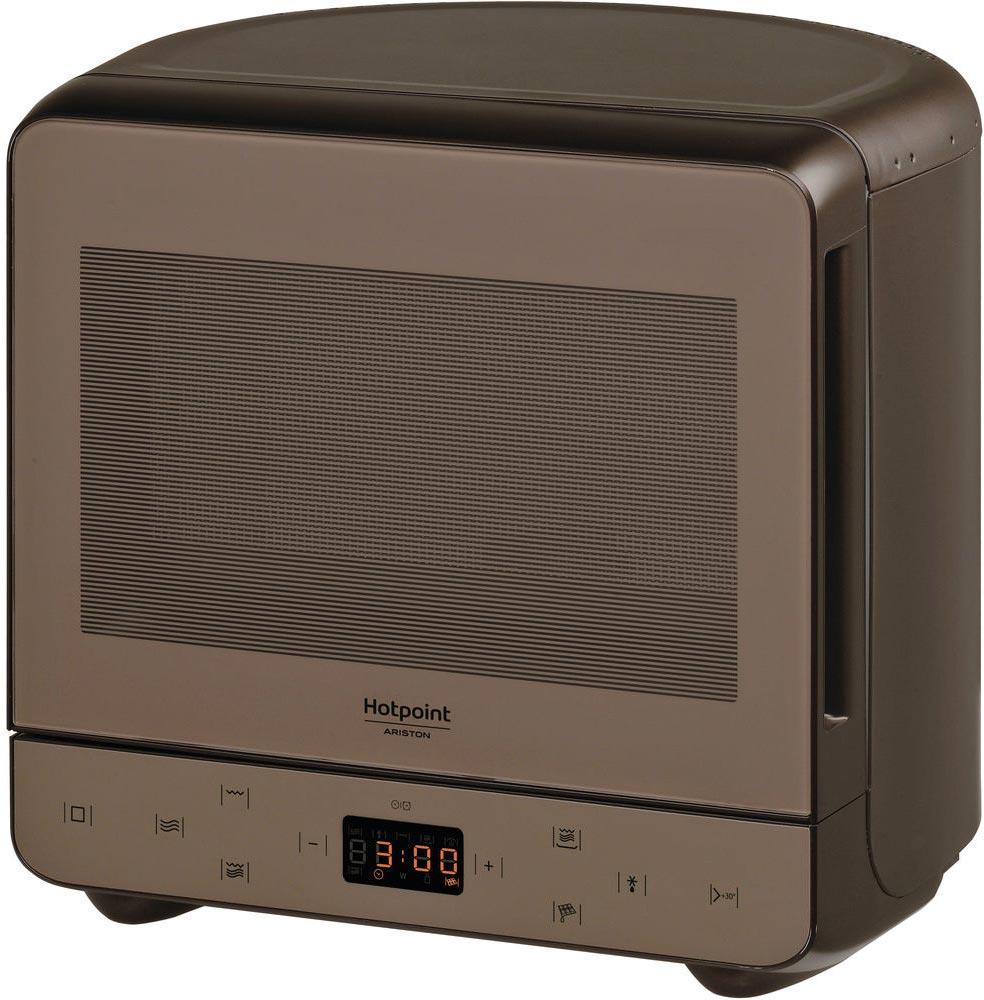 Микроволновая печь Hotpoint-Ariston MWHA 13321 NOIR, коричневый