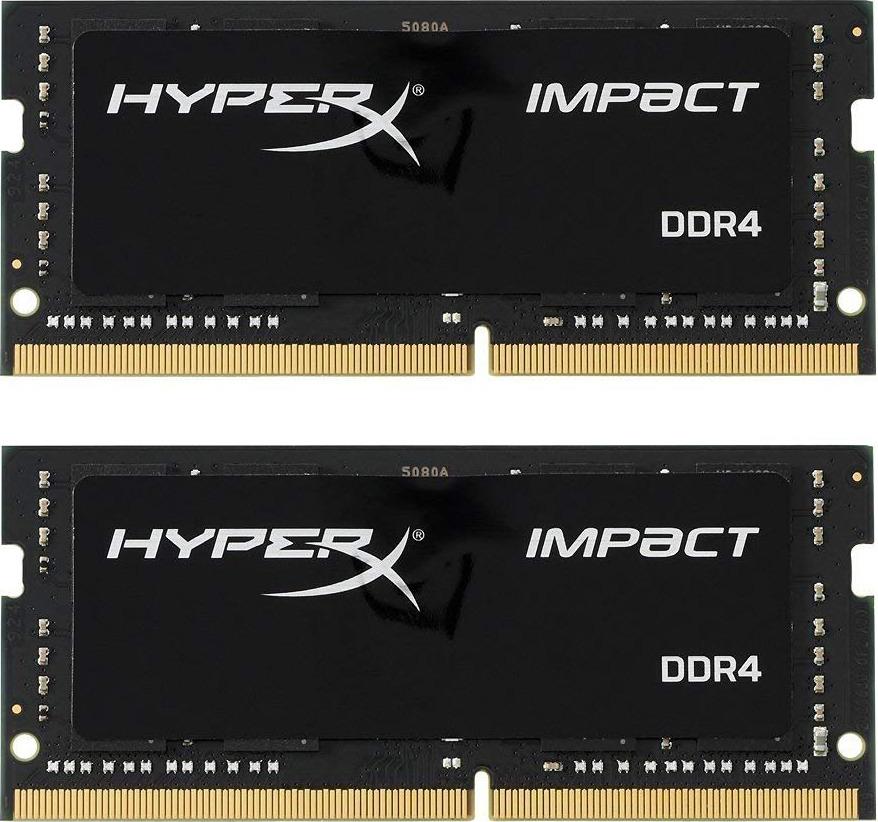 Модуль оперативной памяти HyperX Impact DDR4 SODIMM, HX424S14IB2K2/16, черный