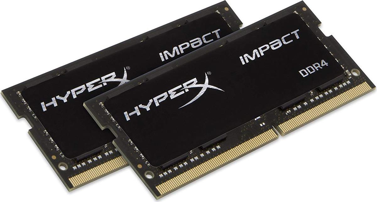 Модуль оперативной памяти HyperX Impact DDR4 SODIMM, HX429S17IB2K2/16, черный