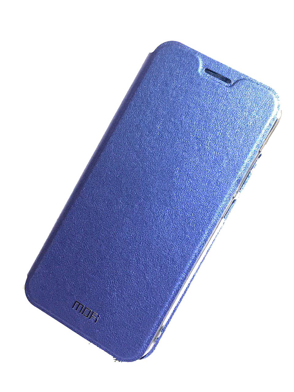 Чехол для сотового телефона Mofi Книжка Grain Xiaomi Redmi Note 5/ 5 Pro Blue, синий чехол книжка interstep vibe для xiaomi redmi note 5 pro черный