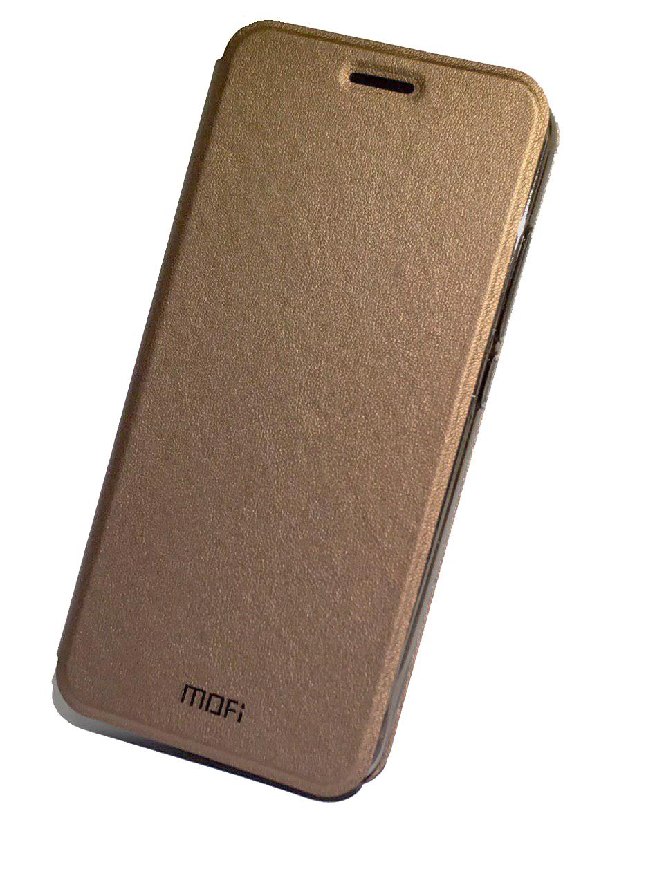 Чехол для сотового телефона Mofi Книжка Grain Xiaomi Redmi Note 5/ 5 Pro Brown, коричневый чехол книжка interstep vibe для xiaomi redmi note 5 pro черный