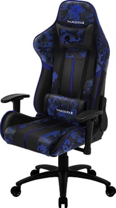 Игровое кресло ThunderX3 BC3 camo, TX3-BC3A, синийTX3-BC3AИгровое кресло ThunderX3 BC3 camo AIR создано специально для того, чтобы обеспечивать максимальный комфорт. Оснащенное специальной технологией AIR Tech, ваше тело будет дышать, даже во время длительных игровых сессий. Технология AIR Tech - дышащая поверхность Экокожа нового поколения Долговечный наполнитель сиденья и спинки с высокой плотностью Уникальный дизайн с карбоновыми вставками Регулируемые подлокотники 2D Механизм «качалка» Настраиваемая высота сиденья Газлифт 3 класса Раскладывание спинки на 180° ThunderX3 BC3 зеленый камуфляж - это прекрасное сочетание баланса и силы в одном удобном игровом кресле. Крупногабаритный товар.