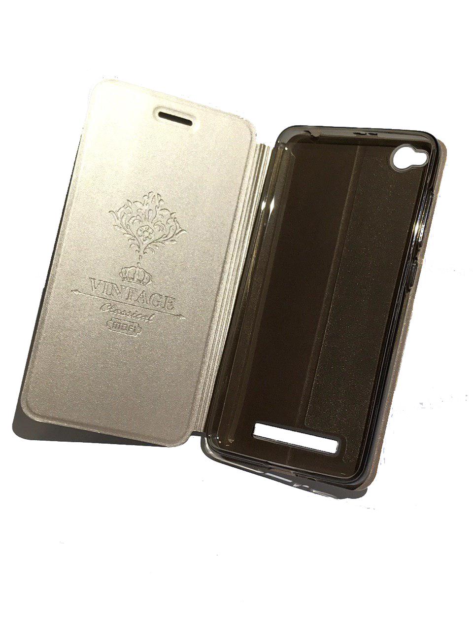 Чехол для сотового телефона Mofi Книжка Pearl Xiaomi Redmi 4X Gold, золотой redmi 4x 16gb gold