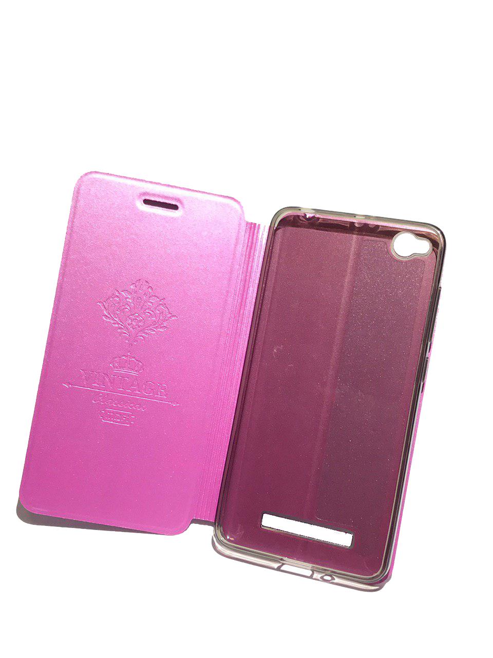 цена на Чехол для Xiaomi Redmi 4X Книжка Pearl Xiaomi Redmi 4X Pink