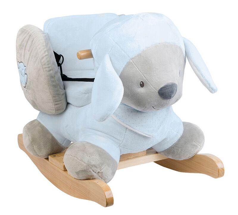 Качалка Nattou Sam & Toby Овечка 604277 интерактивная игрушка nattou soft toy mini sam