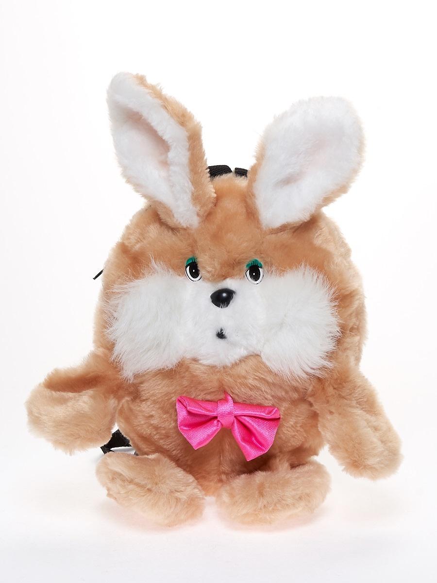 Мягкая игрушка Радомир С906 Заяц-рюкзачок бежевый