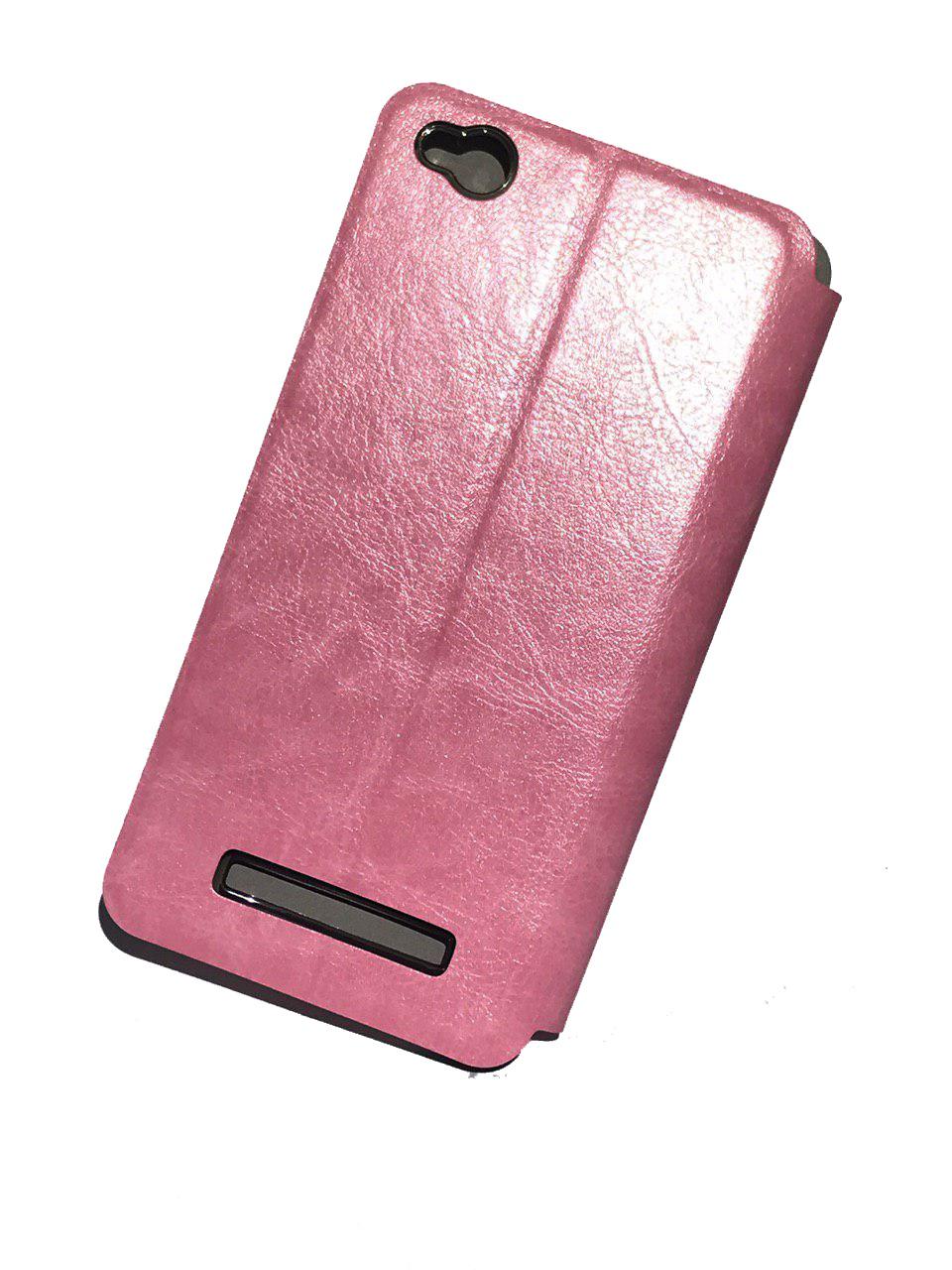Чехол для Xiaomi Redmi 4A Книжка Xiaomi Redmi 4A Pink leather case colorful flip cover for xiaomi redmi 4a white