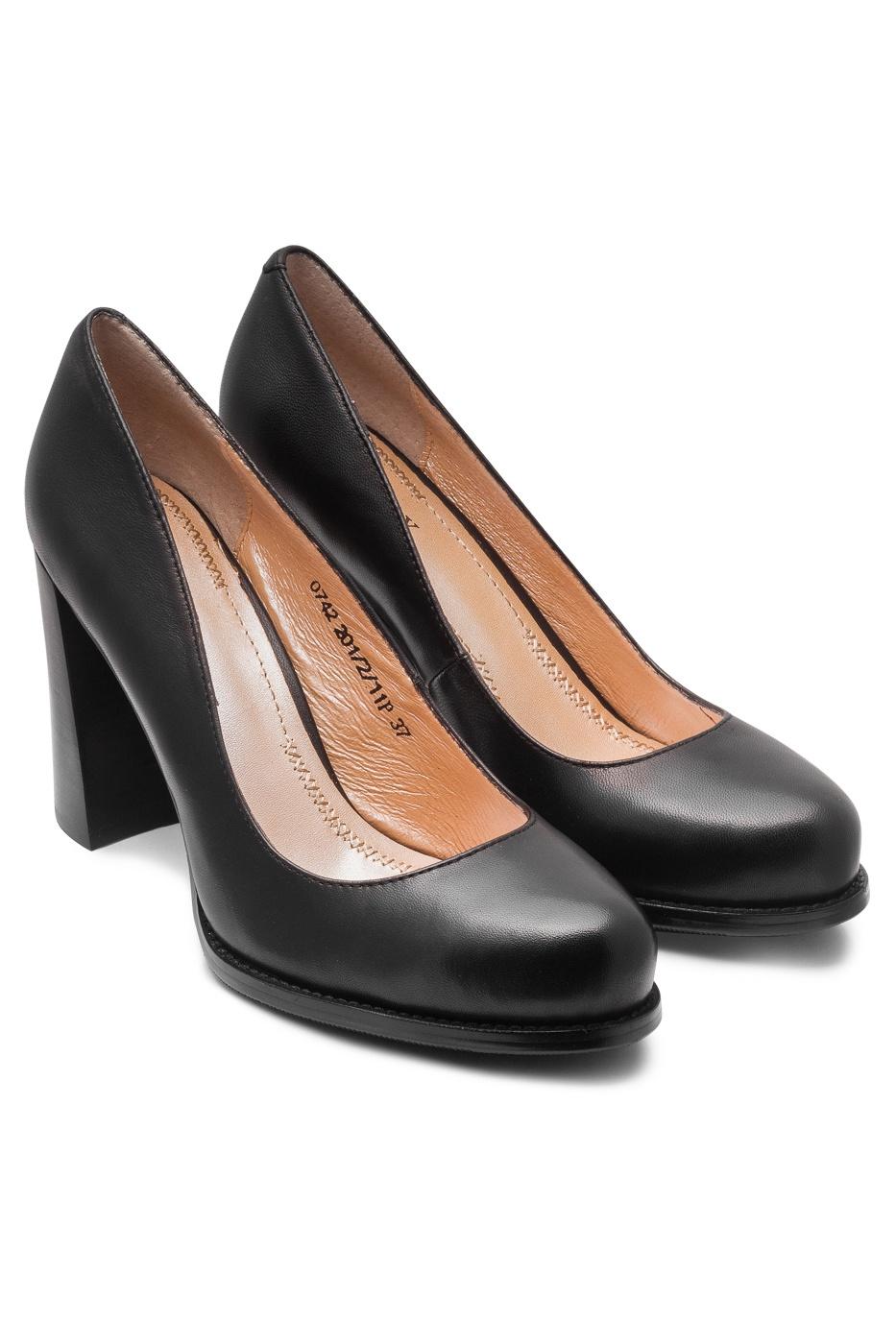 Туфли Valley сланцы женские forio цвет черный 225 7324 размер 38