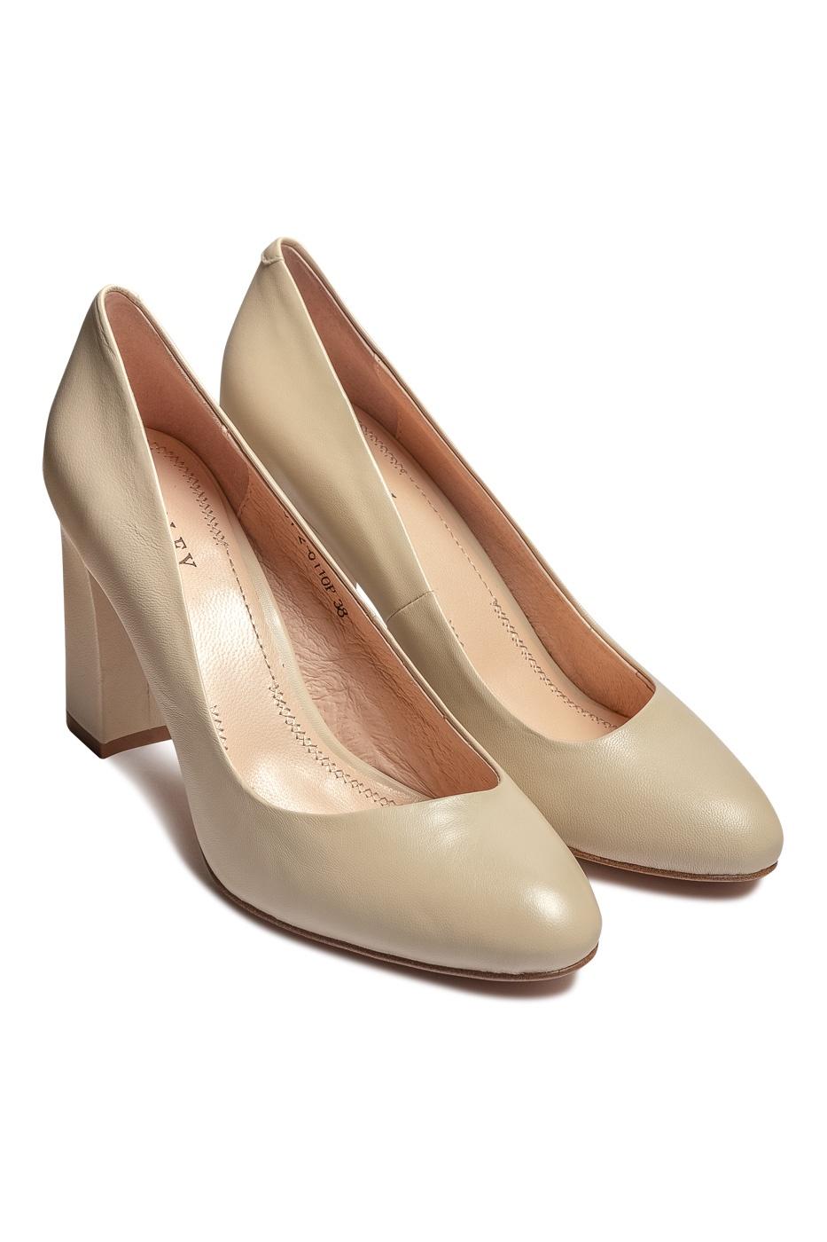 Туфли Valley туфли женские inario цвет светло бежевый 17127 01 4 размер 40