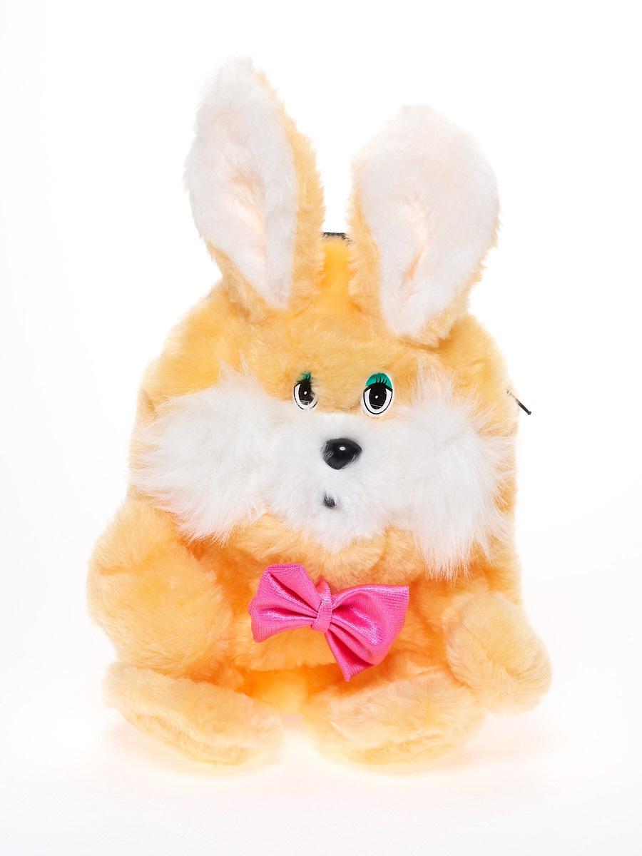 Мягкая игрушка Радомир С906 Заяц-рюкзачок светло-бежевый