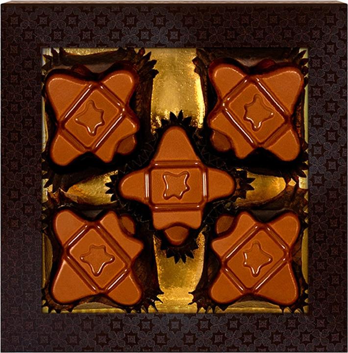 Шоколад вкусовой Chokodelika Карамельный, блистер, 75 г цены онлайн