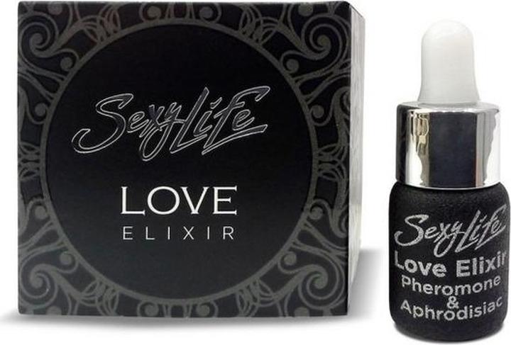 Масло массажное Sexy Life Love Elixir эфирное с афродизиаками, SLLOVEELX-5, 5 мл sexy life erotic elixir 5 мл духи с феромонами и афродизиаками